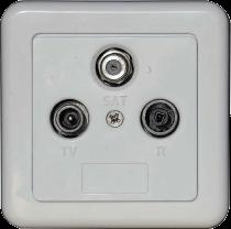 Wall socket TSR-SET